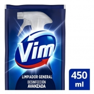 Limpiador Multisuperficies Vim Doypack 450 Ml