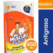 Mr Musculo Cocina Extra Power Doypack 450 Ml