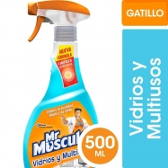 Mr Musculo Multi y Vidrios Gatillo 500 Ml