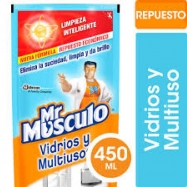 Mr Musculo Multi y Vidrios Doypack 450 Ml